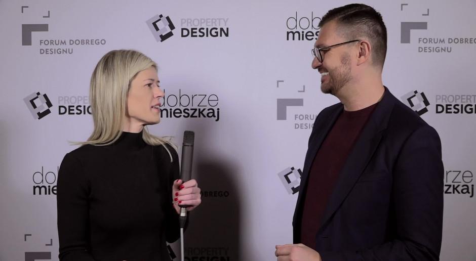 Maciej Zień: w tworzeniu mody i wnętrz widzę więcej podobieństw niż różnic