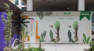 Ogrodzenie kreatywne, czyli pomysł Skanska na urozmaicenie terenu inwestycji Generation Park