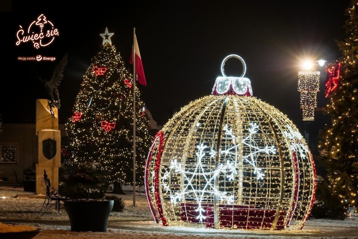 Świąteczne iluminacje z różnych miast Polski będą rywalizować o miano najpiękniejszej
