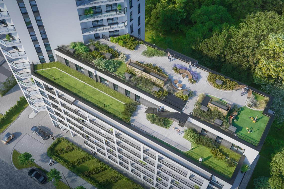 Zielone dachy Letnicy spod kreski WMO Architekci