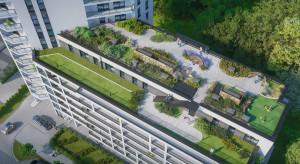 Wieża z tarasem widokowym, zielone ogrody na dachach i nowoczesna architektura. Nowa inwestycja w gdańskiej Letnicy