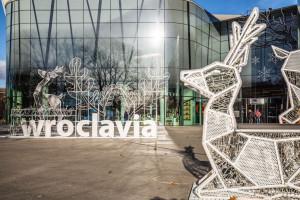 Świąteczne dekoracje ozdobiły centrum Wroclavia