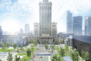 Atrakcyjne, przyjazne, zielone i tętniące życiem. Władze Warszawy zapowiadają kluczowe zmiany w centrum stolicy!