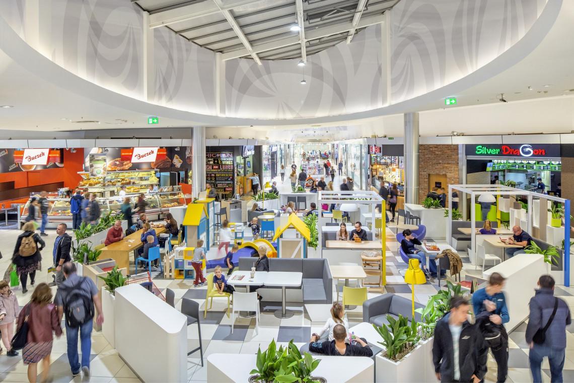 Jedno z najstarszych centrów handlowych w Krakowie przeszło modernizację
