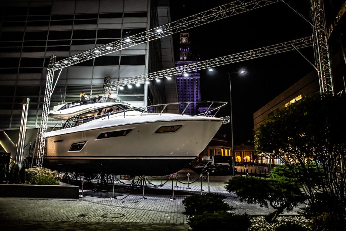 Penthouse wśród jachtów w centrum Warszawy