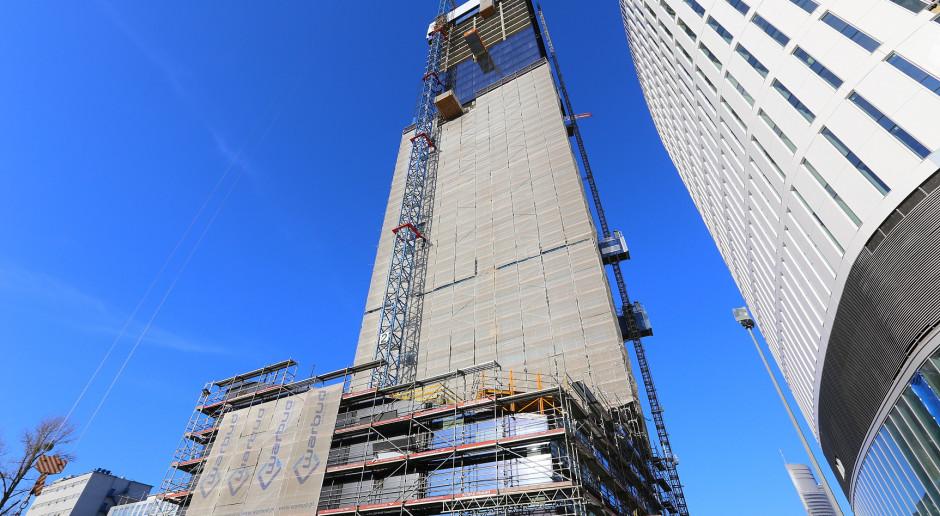 Zaglądamy na budowę Skylinera na warszawskiej Woli