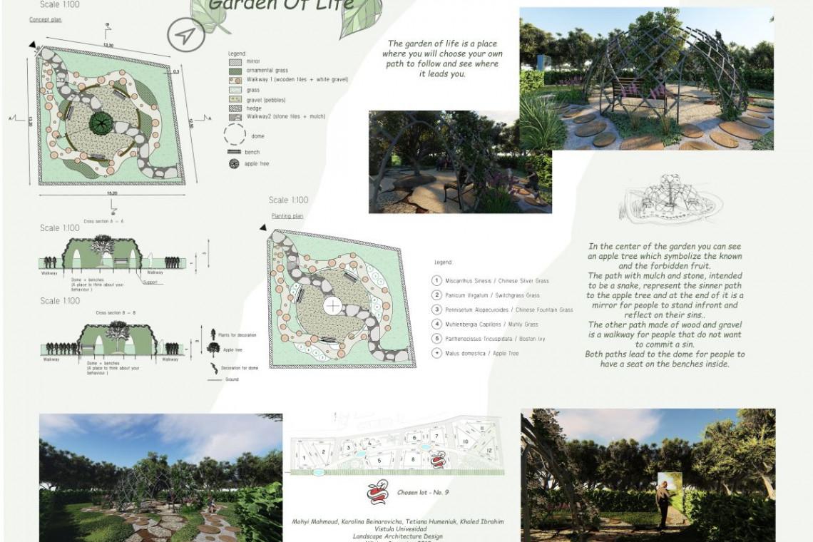 Studenci z warszawskiej uczelni wygrali międzynarodowy konkurs architektury krajobrazu