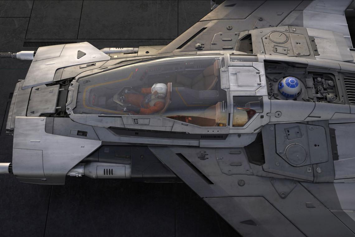 Porsche i Star Wars? Wszystko jest możliwe! Oto statek kosmiczny, który jest wynikiem niezwykłej współpracy