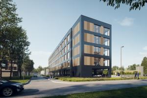 W Krakowie powstaje ekologiczny biurowiec spod kreski pracowni Iliard