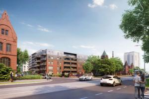 Browary Wrocławskie: ruszyła przebudowa drogi przy rewitalizowanych budynkach