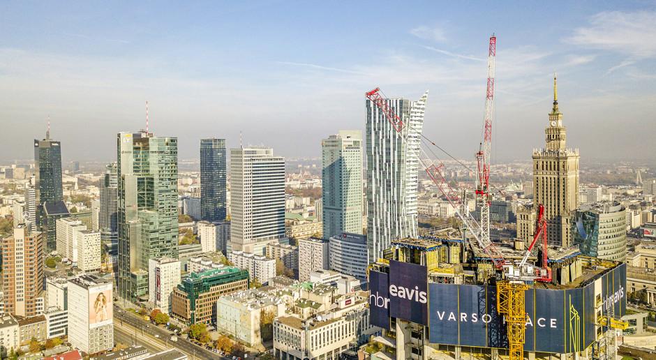 Polska placem budowy biurowców. Powstaje 112 budynków