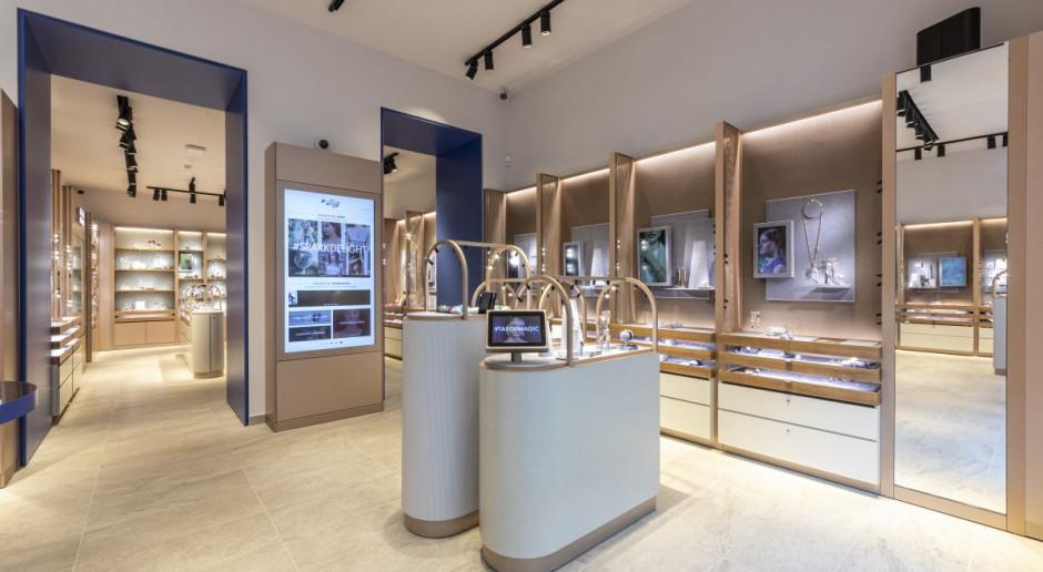 Swarovski z nową koncepcją sklepów. Za projektem wnętrz stoi Patricia Urquiola