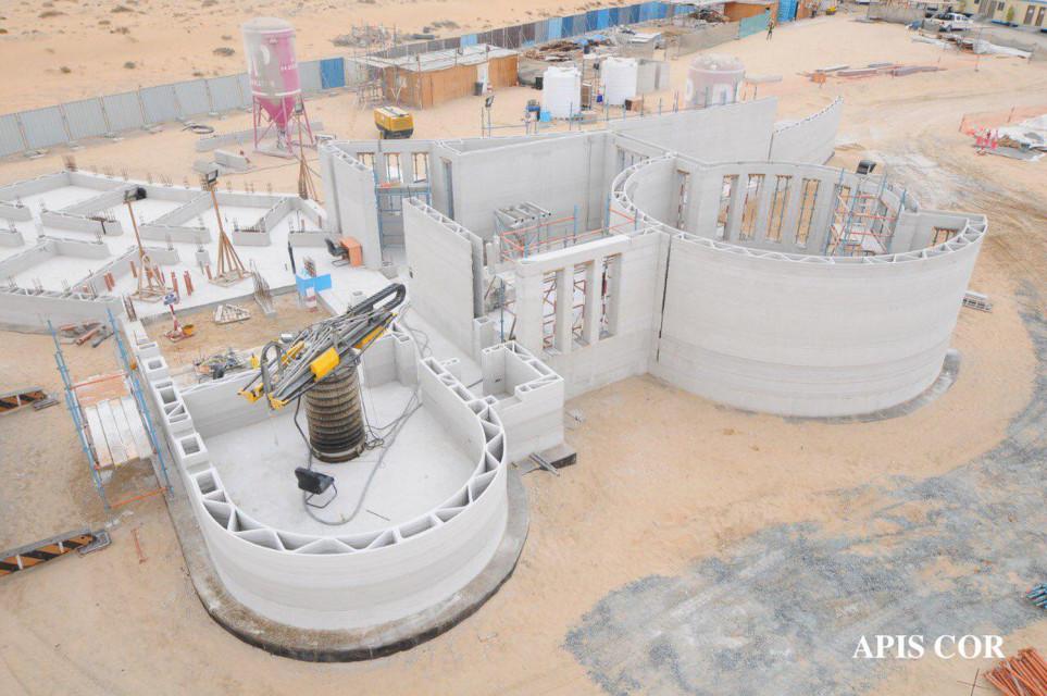 W Dubaju stanął największy na świecie budynek w technologii druku 3D