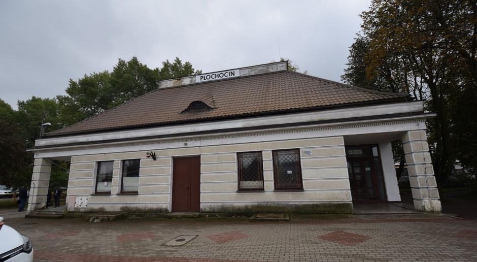 Budynek dworca kolejowego w Płochocinie wpisany do rejestru zabytków