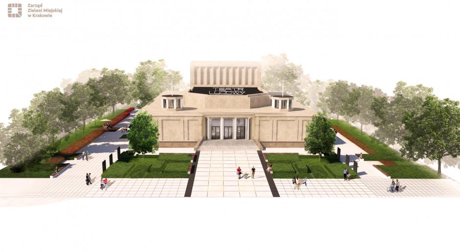Drugi etap budowy Teatralnego Ogrodu Krakowian