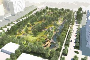 Tak będzie wyglądać park na Białołęce. Zobacz zwycięską koncepcję
