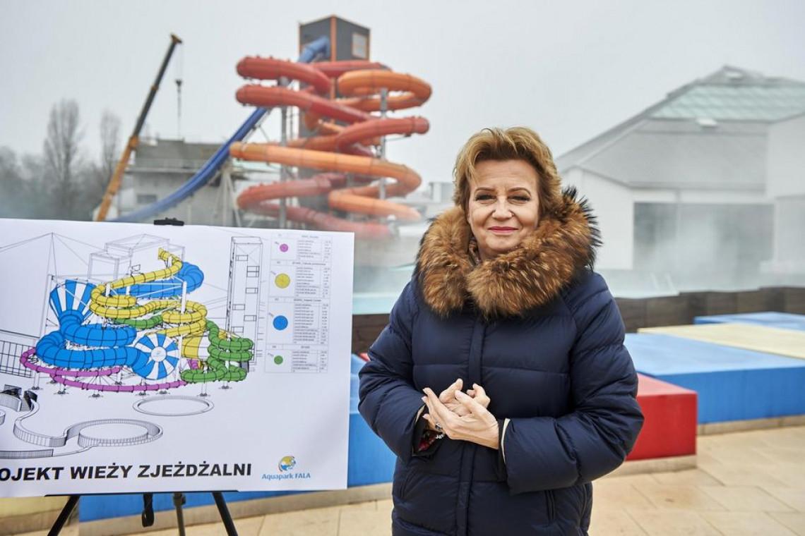 """W łódzkim aquaparku """"Fala"""" powstają nowe atrakcje - tylko dla odważnych"""