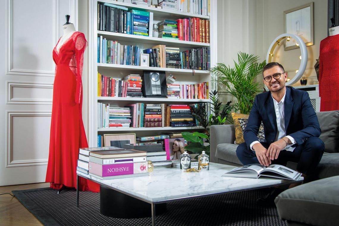 Maciej Zień - zobacz jak mieszka i pracuje znany projektant