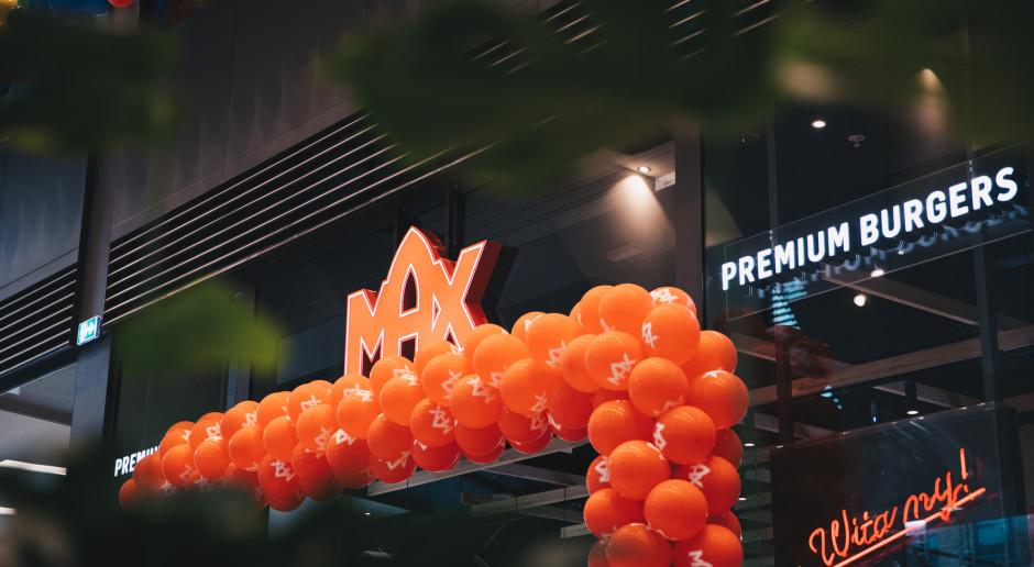 MAX Premium Burgers z kolejną restauracją w Warszawie