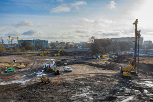 Trwa budowa Fabryki Wody, czyli najbardziej nowoczesnego aquaparku w Polsce