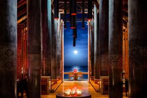 Łazienki w luksusowym hotelu na Malediwach