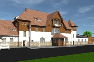 Trwa przebudowa dworca w Szklarskiej Porębie