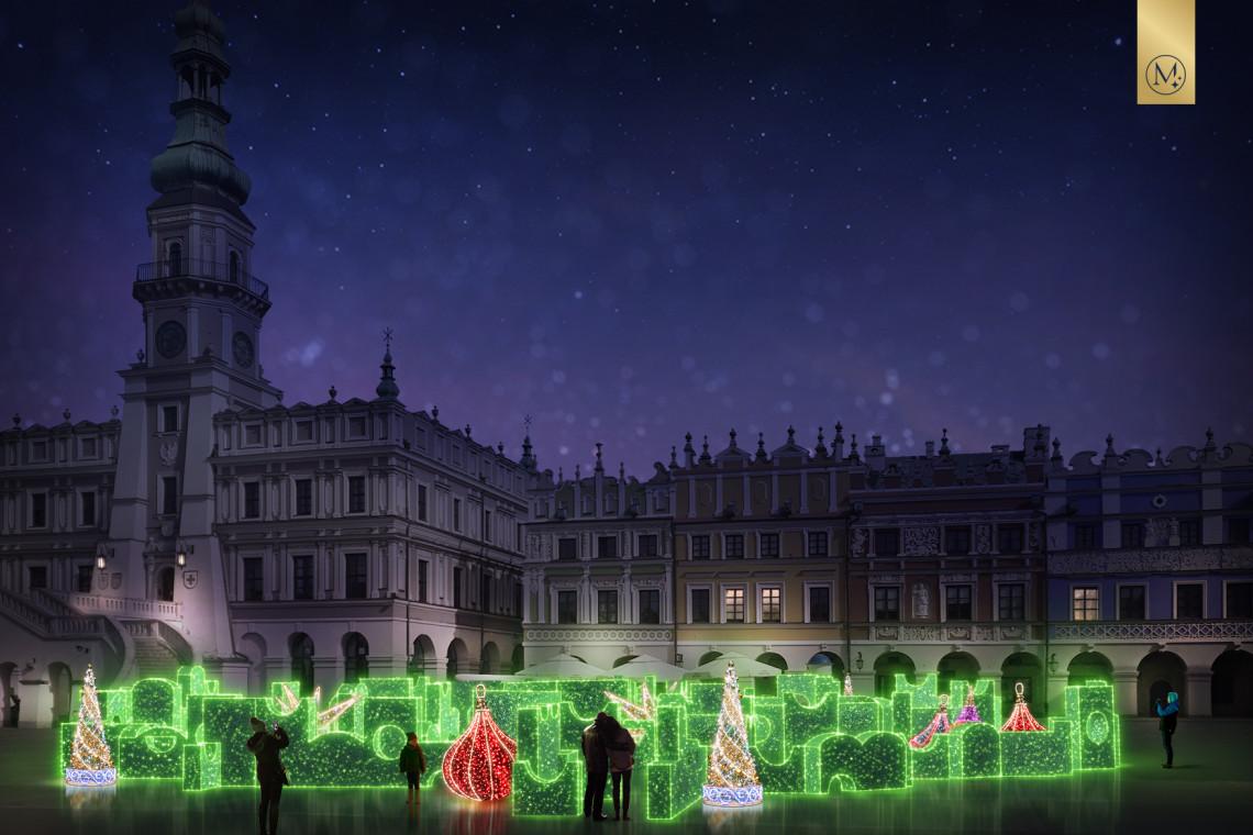 Najpiękniej rozświetlone miasto w Polsce