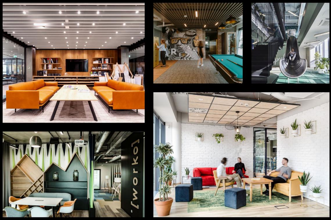 Oto pięć designerskich biur nominowanych w Property Design Awards 2020