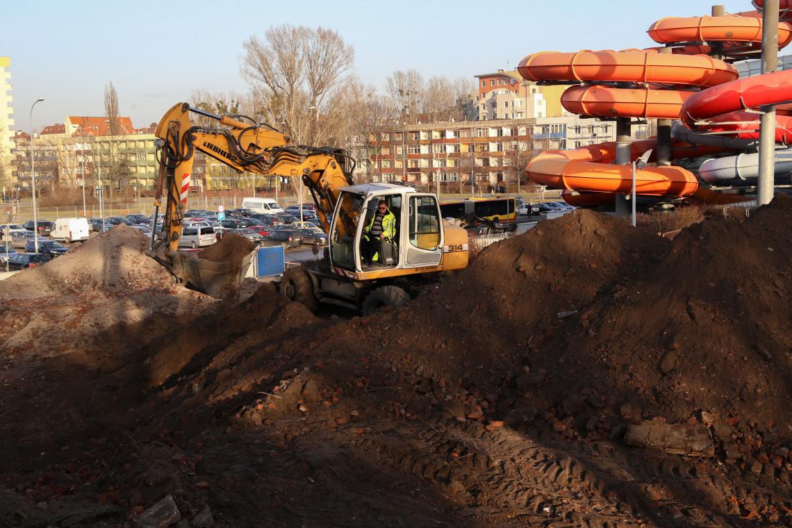 Ruszyła rozbudowa Aquaparku we Wrocławiu. Zaglądamy na plac