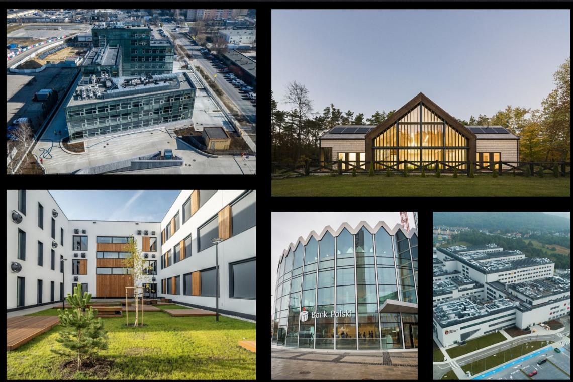 Najlepsza bryła publiczna w Polsce? Te pięć wyjątkowych projektów walczy o główną nagrodę w konkursie