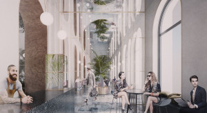 Tak będzie wyglądał pierwszy hotel Sadie w Polsce. Design jest unikalny