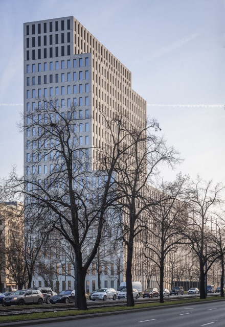 Nowa ikona warszawskiego Mokotowa. Oto wieżowiec projektu JEMS Architekci