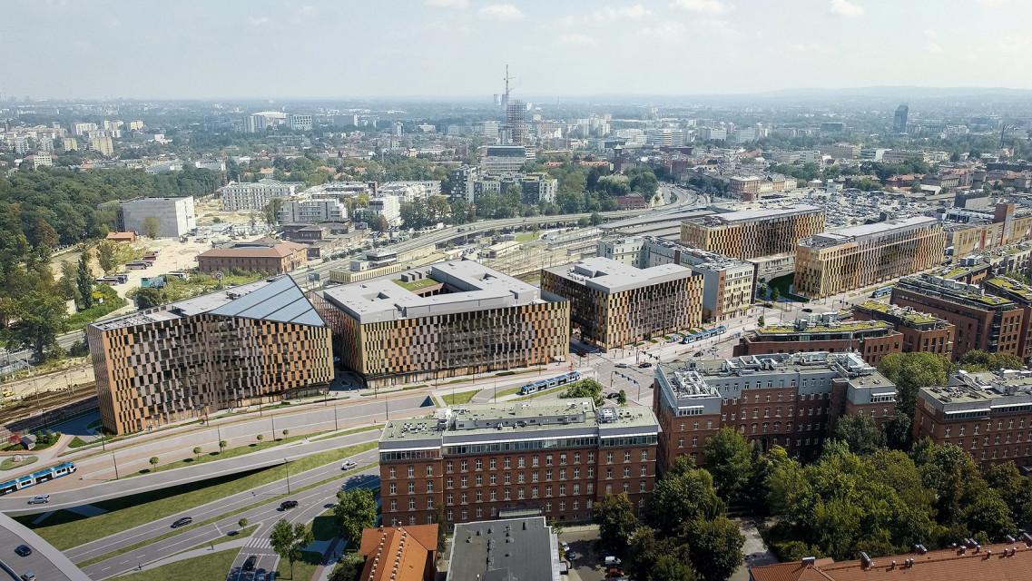 Pierwszy w Krakowie biurowiec Skanska z certyfikatem WELL. To projekt NS Moon Studio