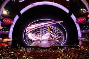 Kryształy Swarovski w scenografii podczas gali wręczenia Oscarów 2020