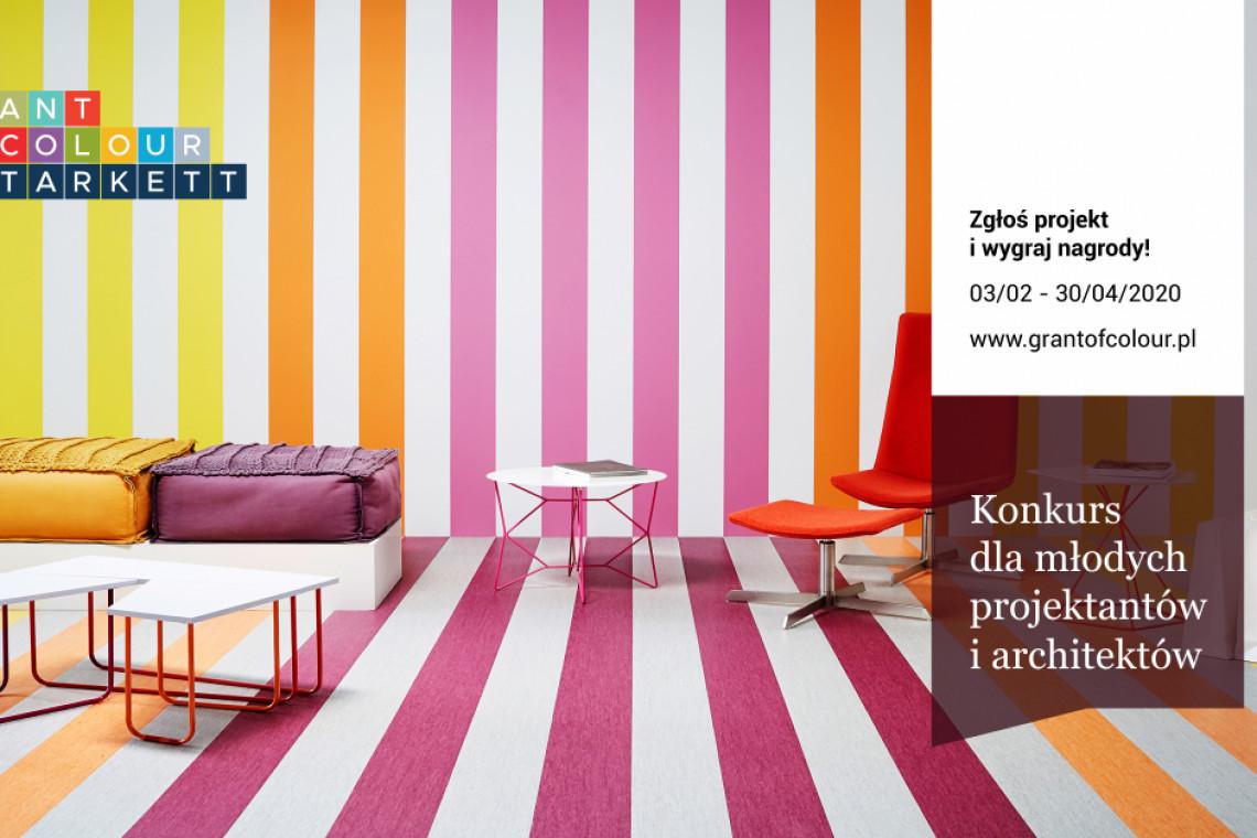 Nowy konkurs dla projektantów i architektów! Weź udział w Grant of Colour