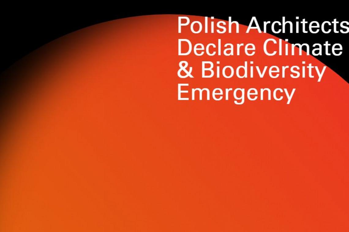 Polscy architekci apelują o odpowiedzialne projektowanie