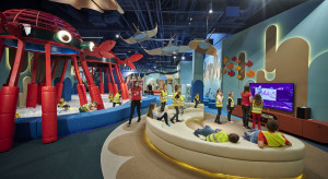 Sala zabaw niczym podwodny świat