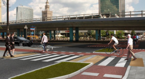Z myślą o pieszych i rowerzystach w centrum Warszawy