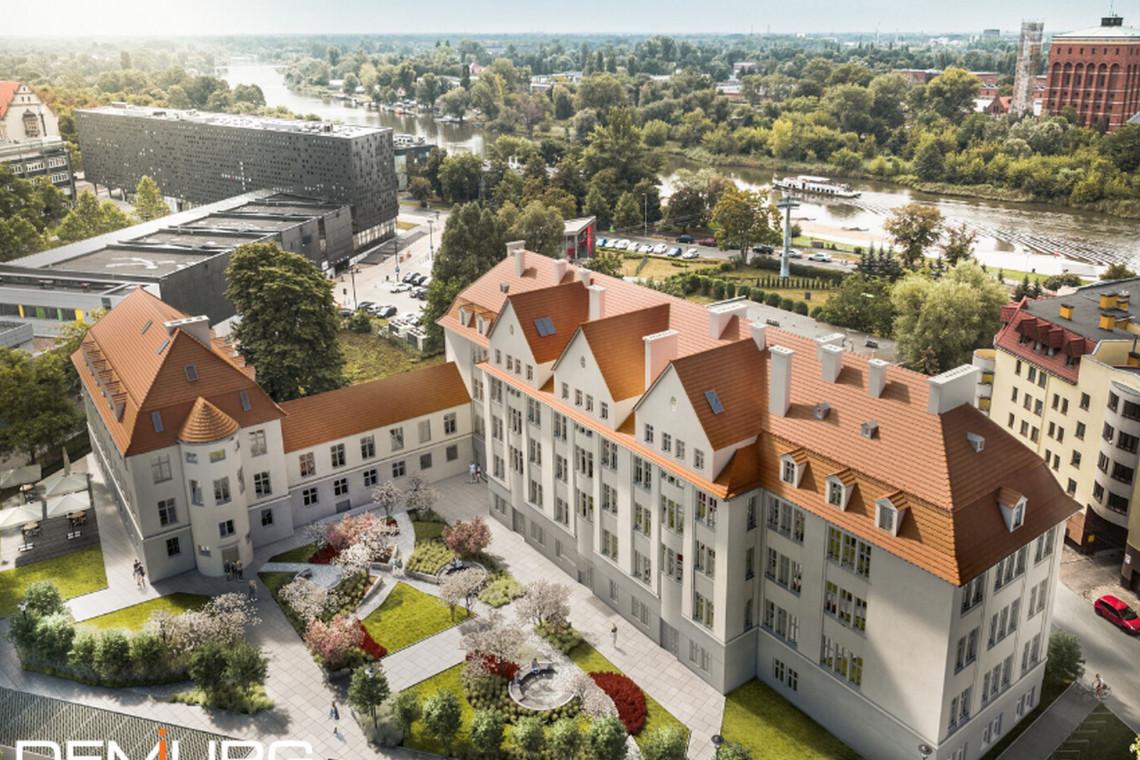 Dawny szpital zmieni się w nową siedzibę Wydziału Matematyki Politechniki Wrocławskiej