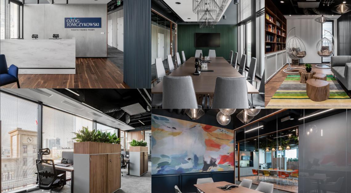 Funkcjonalne, ergonomiczne i eleganckie. Takie jest nowe biuro kancelarii Ożóg Tomczykowski w Nowogrodzka Square