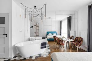 Architekci postawili na wnętrze proste, ale z fantazją