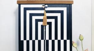 Op-artowa szafka, czyli sztuka renowacji mebli