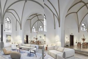 Promocja mebli w kaplicy? Nietypowy pomysł skandynawskiej marki