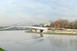 Kraków skarży decyzję w sprawie kładki pieszo-rowerowej przez Wisłę
