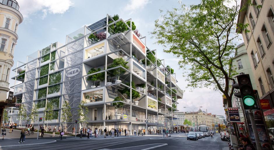 IKEA zbuduje zieloną oazę w centrum Wiednia