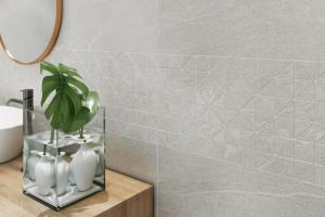 Marmur i kamień o niezwykłej powierzchni gniecionego papieru
