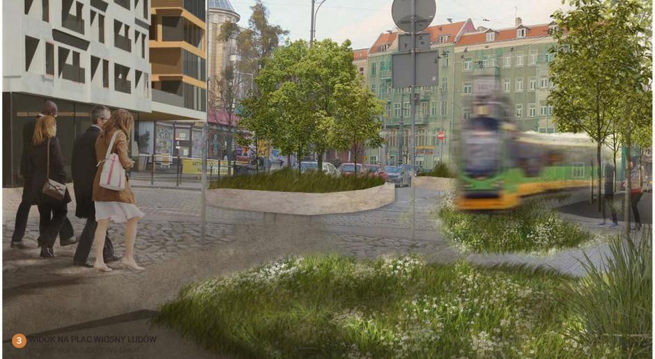 Plac Wiosny Ludów czekają zmiany. Poznańscy radni przyjęli plan