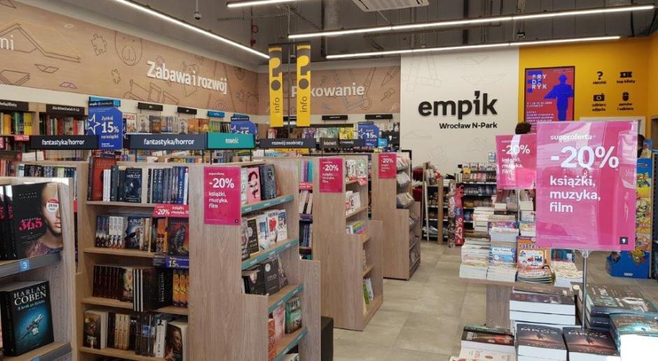 Nowe salony Empik w mniejszym formacie