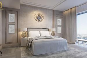 Penthouse w Złotej 44 - pomysł na luksusowe wnętrze od O&O European Design