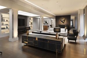 Wiesław Olko z O&O European Design pochwalił się pomysłem na penthouse w Złotej 44